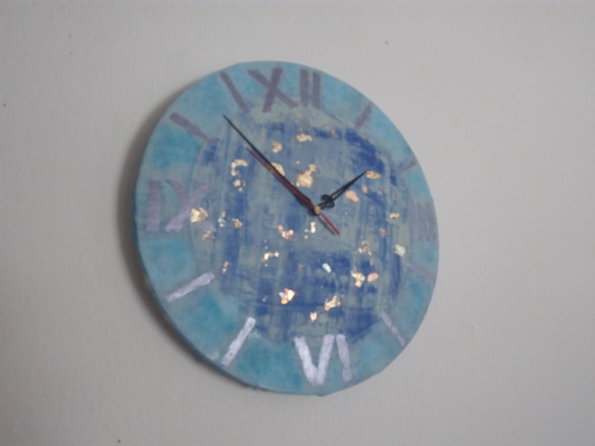 Leinwand Uhr -  Selber machen - DIY